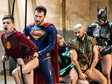 Justice League : A Gay XXX Parody Part 4