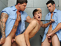 Johnny Rapid in Prison Shower 2