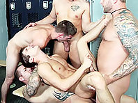 johnny rapid gay orgy