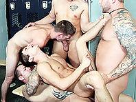 johnny rapid huge gay orgy